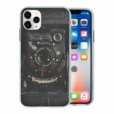 For Mobile Phone TPU Back Case Cover Vintage Retro Camera - A4