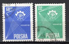 Poland - 1957 Fair Poznan - Mi. 1018-19 VFU