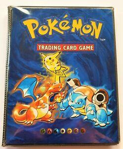Pokémon Collector's Album Base / Basis Set Ordner Glurak Turtok Pikachu WOTC TCG
