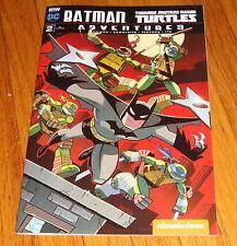 Batman Teenage Mutant Ninja Turtles Adventures #2 Chad Thomas Ri Variant Edition