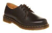 Womens Dr. Martens 3 Eyelet Shoes BLACK Flats