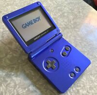 Nintendo Game Boy Advance SP AGS-001 Cobalt Blue FAST SHIP! Gameboy Clean TESTED