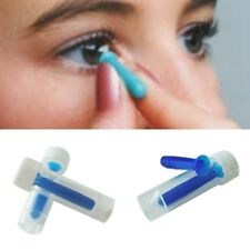 1pcs Tool For Color /Colored /Halloween Lenses (Color: Blue) Portable