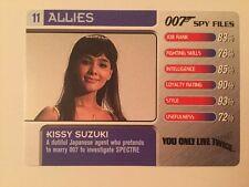 You Only Live Twice Kissy Suzuki #11 Allies - 007 James Bond Spy Files Card