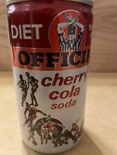 Vintage Official Diet Sugar Free Cherry Cola AP Alum soda can