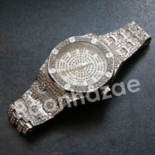 HIP HOP ICED OUT LUXURY MAD DOPE METAL BAND WRIST CULTURE WATCH