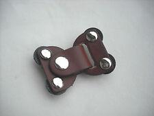 JUL Designs Chestnut Leather Lock Toggle Closure