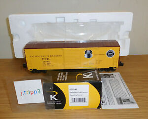 K-LINE LIONEL 6-22146 UNION PACIFIC FRUIT EXPRESS OPERATING BOXCAR O SCALE TRAIN