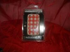 Skull Candy Case Handy Schutzhülle für IPhone 3G & 3GS Neu und OVP kariert rot