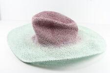 Elegant cowgirl thème paille bébé Bleu/Violet pearlscent Bicolore Chapeau (HT18)