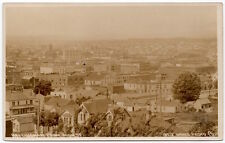 Real Photo Postcard View of Bellingham, Washington from High Street~105811