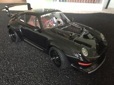 Tamiya 1/10 RC Porsche 911 GT2 TA02 Carbon Chassis, Custom On Road Car Vintage