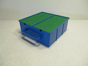 K3# Lego Sortierkasten / Sortierbox / Sammelkoffer 2 Platten und Inneneinteilung