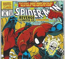 Spider-Man #23 Hulk, Fantastic Four, Ghost Rider from June. 1992 in VF/NM con DM