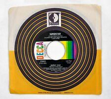 "New listing Murray Head Andrew Lloyd Webber Superstar / John 7"" 45 rpm Vinyl Record Vg+ 1969"