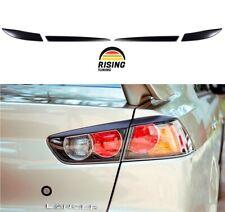 Rear Eyelids eyebrows for Mitsubishi Lancer X 07-17 Tail Lights Cover eyelash