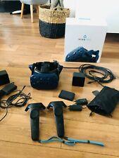Casque réalité virtuelle HTC VIVE PRO complet avec station de base et manettes