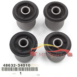 4PCS Front Upper Control Arm Bushing For SEQUOIA 2001-2007 Toyota Tundra 2000-06