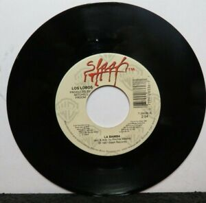 LOS LOBOS LA BAMBA/CHARLENA (VG+) 7-28336 45 RECORD