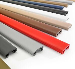 15m PVC Handlauf Treppenhandlauf Kunststoffhandlauf 40x8 mm gold