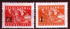 492  - Yugoslavia 1946 - Partisans - Overprint - MNH(**) Set