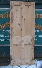 4412 Victorian four panel door stripped pine