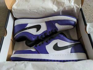 Jordan 1 Low 'Court Purple' 553558-500 | Size 12