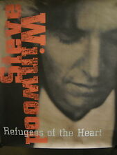 Steve Winwood Large Rare Promo Poster Refugees Of The Heart mint condition