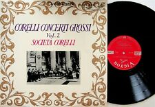 SHP-2255 JAPAN LIVING STEREO Societa Corelli Conceti Grossi Vol.2 LP EX- Society