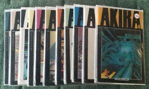 Akira Comics 1988 8.5+ First Printing 4, 6, 7, 8, 9, 12, 13, 15, 16, 17, 18