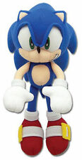 "NEW AUTHENTIC 7"" Sonic the Hedgehog Mini-Size Stuffed Plush Doll by GE-8985!!!!!"