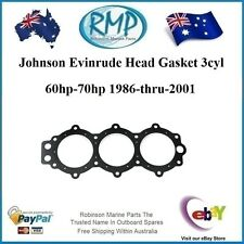 A Brand New Johnson Evinrude Head Gasket 3cyl 60hp-70hp 1986-2001 # R 329836