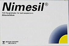NIMESIL 3 X 2g Sachets Pain relief Toothache Muscle Pain Fast Relief (Нимесил)