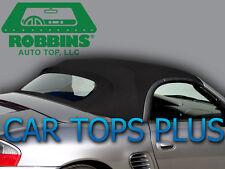 2003-2004 Porsche Boxster Convertible Top & Defrost Glass Black Twillfast Cloth