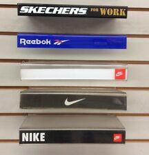 Nike Reebok Skechers Plastic Slat Wall Shoe Display Shelf One Panel $10