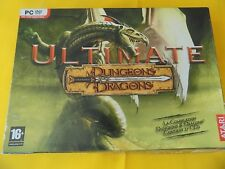 Ultimate Dungeons & Dragons de Atari, jeu pc, rôle rpg baldur's gate dragonshard