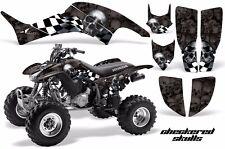 AMR Racing Honda TRX 400 EX Graphic Kit Wrap Quad Decal ATV 1999-2007 CHCKRD BLK