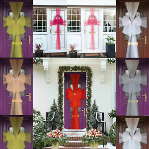NEW CHRISTMAS DELUXE DOOR BOW XMAS NEW YEAR BABY SHOWER PARTY DECORATION
