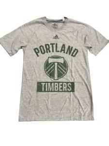Adidas MLS Portland Timbers S/S Ultimate Tee Grey/Green DH0148