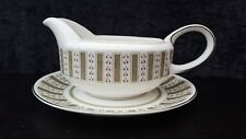 Wedgwood Susie Cooper PERSIA GRAVY/SAUCE BOAT AND PLATE