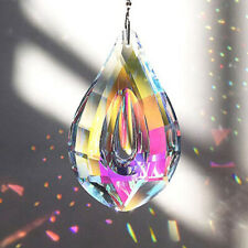 76mm Rainbow Crystal Suncatcher Chandelier Lamp Prism Hanging Pendant Decor