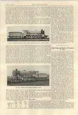 1924 Motor Ships Marine Oil Engines Table Lms Railway Engine