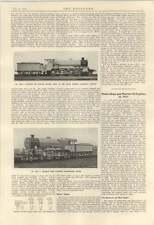 1924 motor barcos motores de aceite de Marina Mesa LMS Motor de Ferrocarril