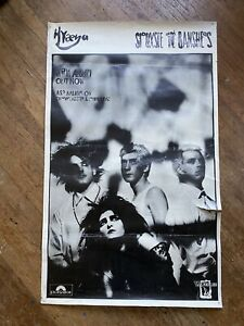 Siouxsie And The Banshees Promo POSTER 1984 STORE POSTER HYAENA Robert Smith LRG