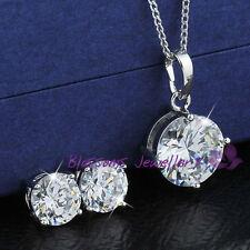 Diamond White Gold Wedding Party Jewellery
