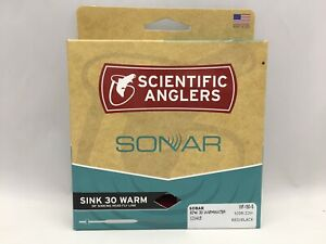 Scientific Anglers Sonar Sink 30 Warm Fly Line WF150S Red/Black 105 ft NEW