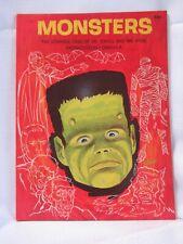 1965 Monsters 7901 Wonder Books  Dr. Jekyll Mr. Hyde  Frankenstein  Dracula