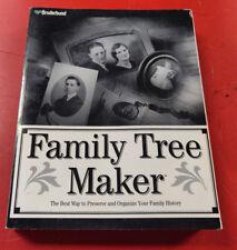 Broderbund Family Tree Maker **MANUAL ONLY**