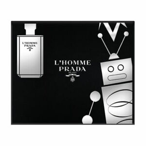 Prada L'Homme 50ml Eau De Toilette Spray / 100ml Shower Cream