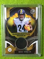 BENNY SNELL JR. ROOKIE CARD JERSEY PATCH RELIC RC /149 SP STEELERS 2019 Elements